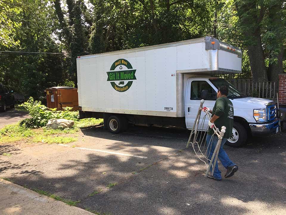 moving truck fairfax